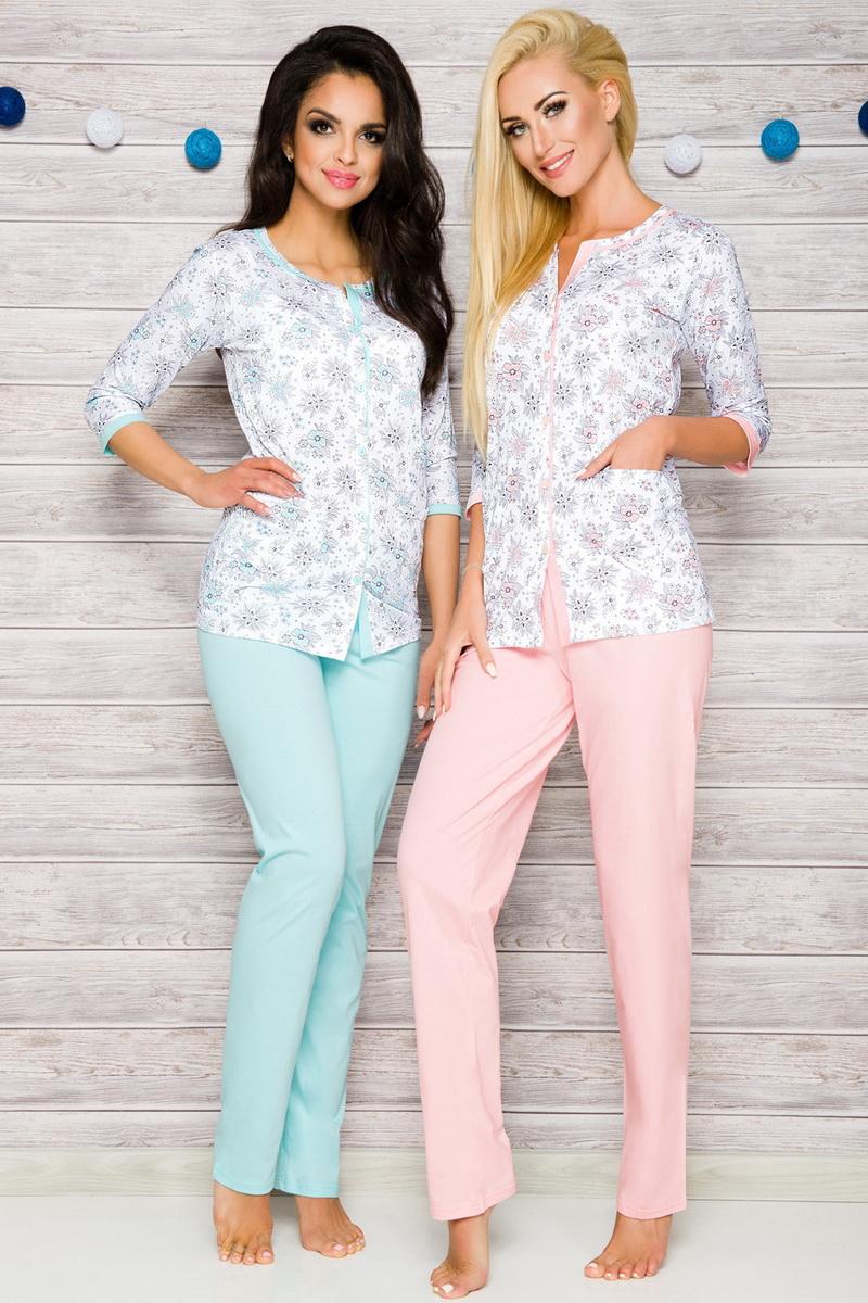 Dámské pyžamo Taro 2122 růžové (velikost L)