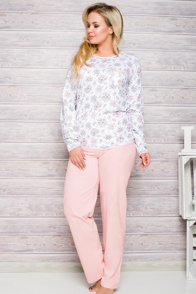 Dámské pyžamo Taro 2132 růžové (velikost XXL)