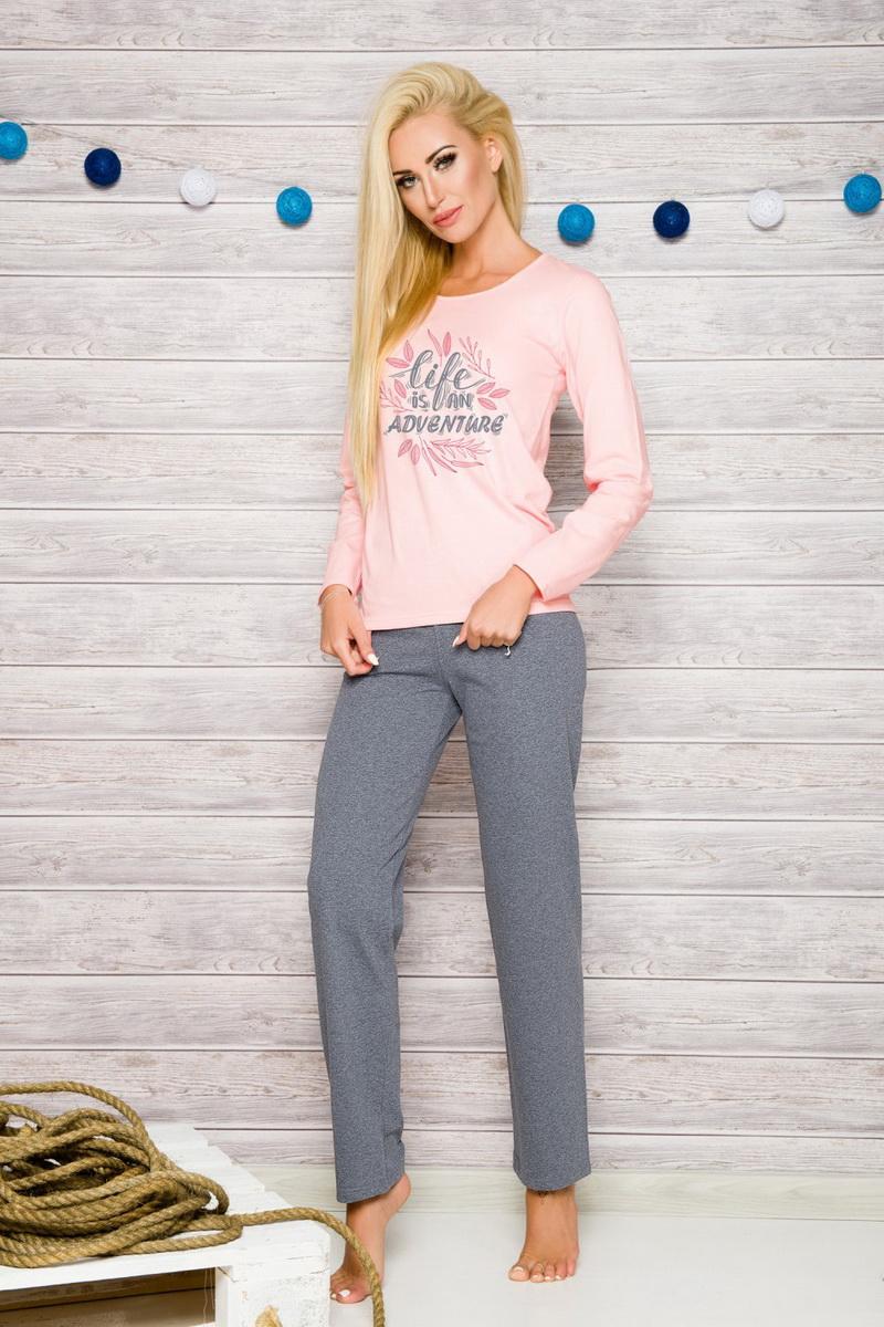 Dámské pyžamo Taro 259 Sylwia růžové (velikost XXXL)