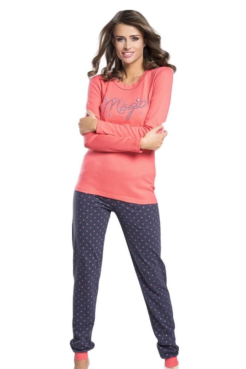 Dámské pyžamo Italian Fashion Alezja malinové (velikost M)