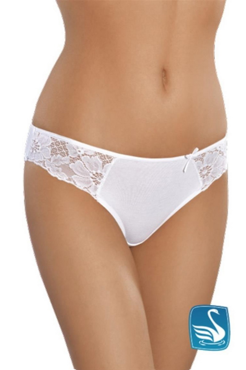 Dámské kalhotky Gabidar 030 bílé (velikost L)