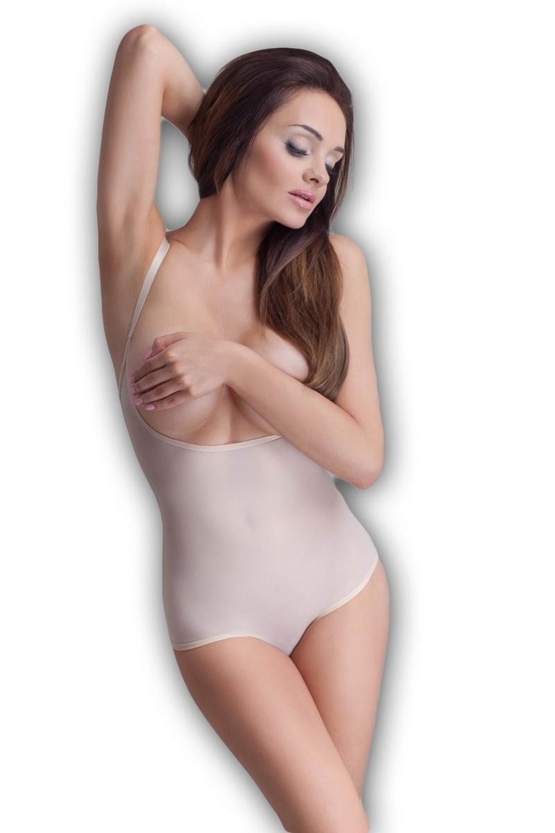 Stahovací body Mitex Softly béžové (velikost L)