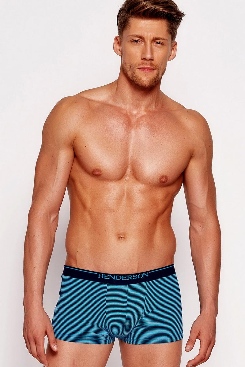 Pánské boxerky Esotiq 35408 modré (velikost L)