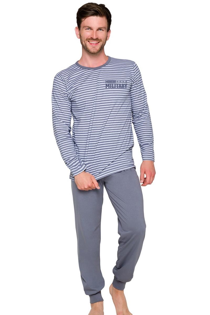 Pánské pyžamo Taro Max 372 šedé (velikost L)