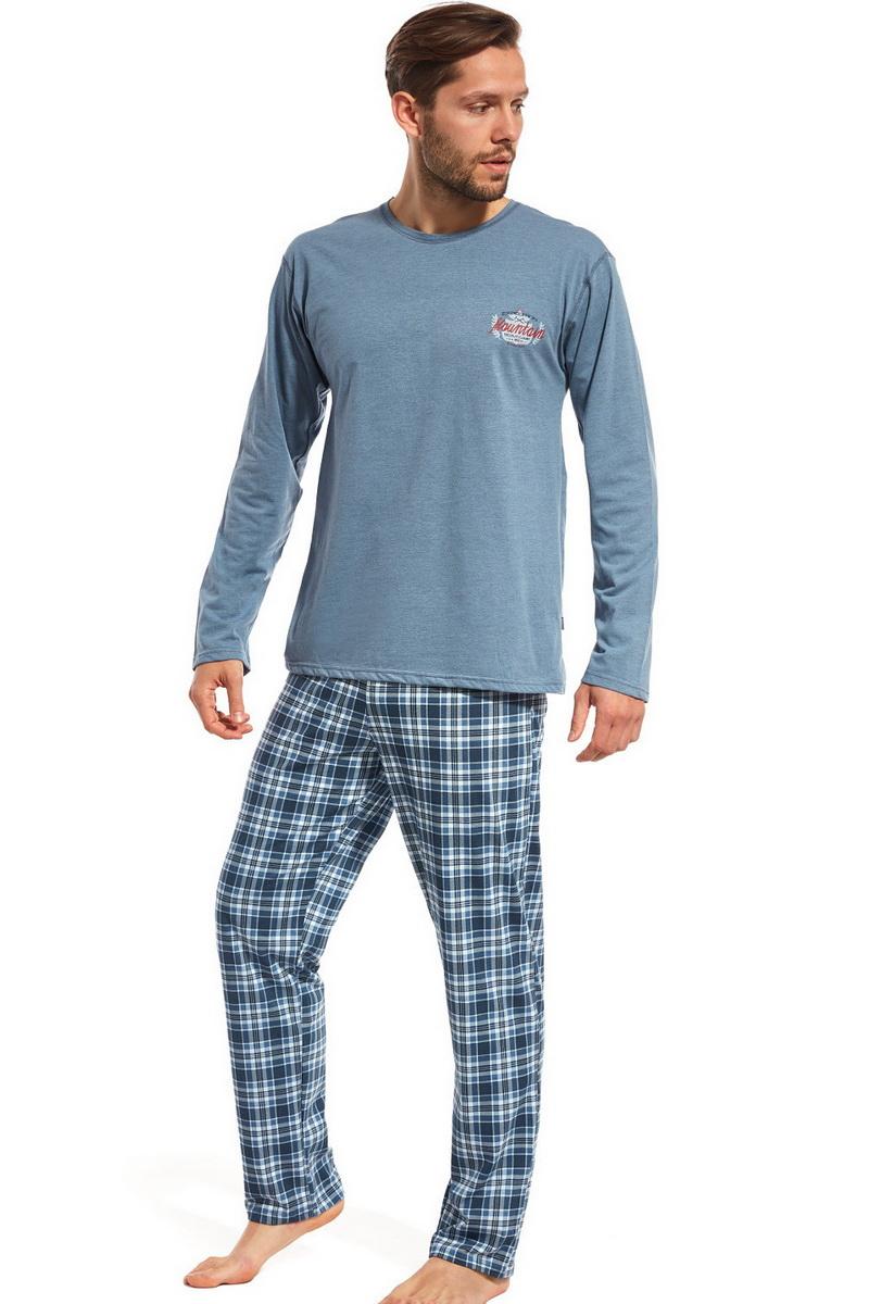Pánské pyžamo Cornette 12497 modré (velikost XL)