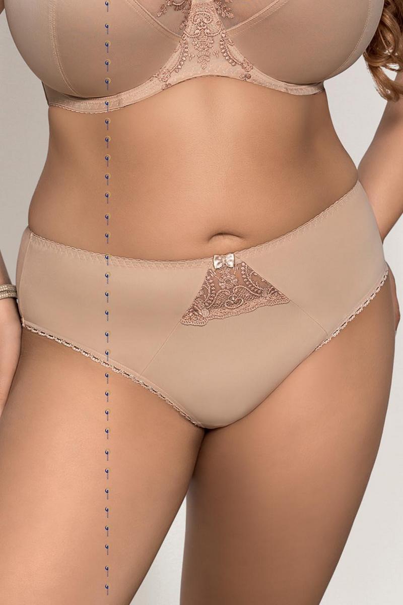 Dámské kalhotky Gorsenia K232 Eva béžové (velikost L)