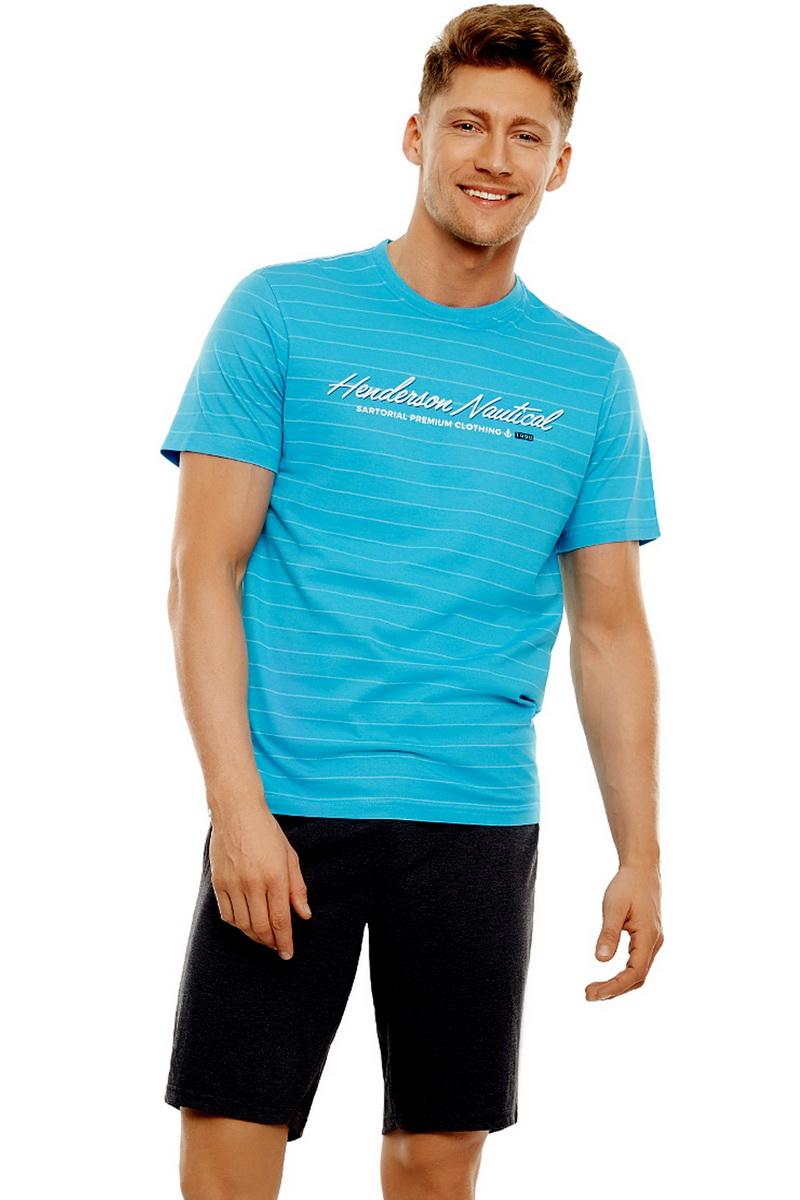 Pánské pyžamo Esotiq 35714 modré (velikost XL)