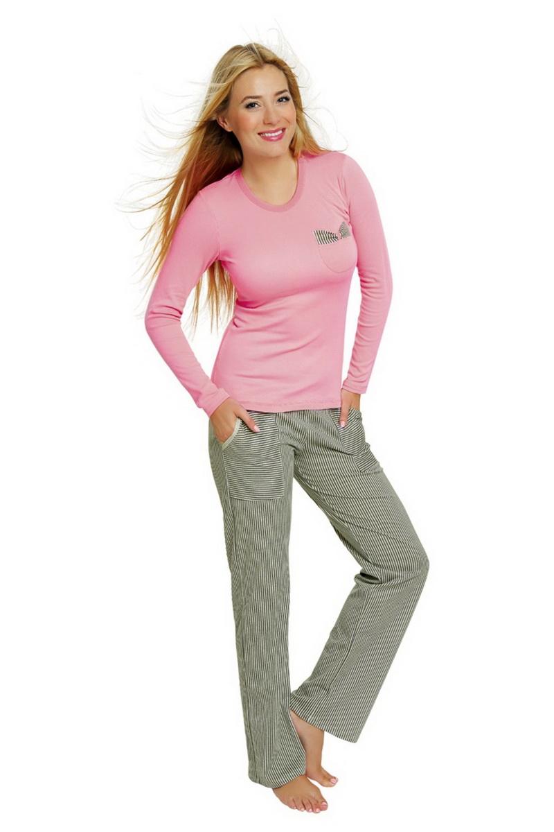 Dámské pyžamo Italian Fashion Ewita růžové (velikost L)