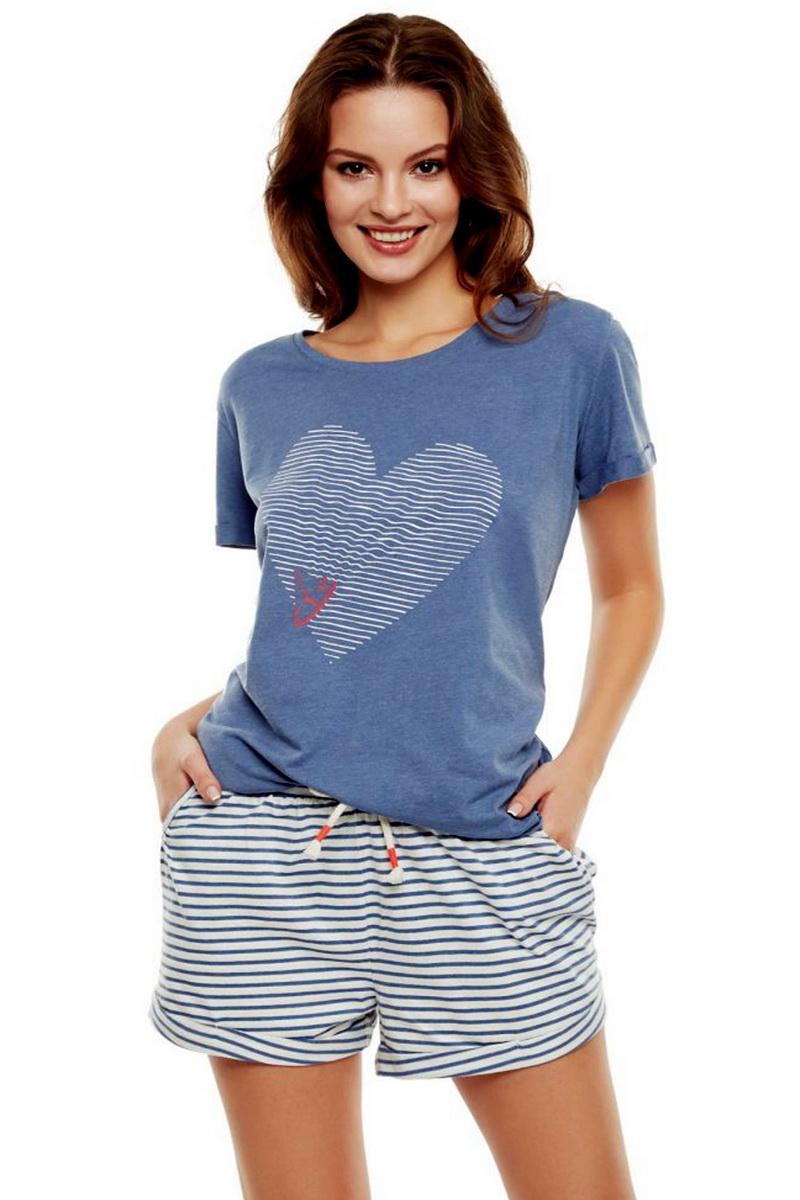 Dámské pyžamo Esotiq 35911 modré (velikost M)