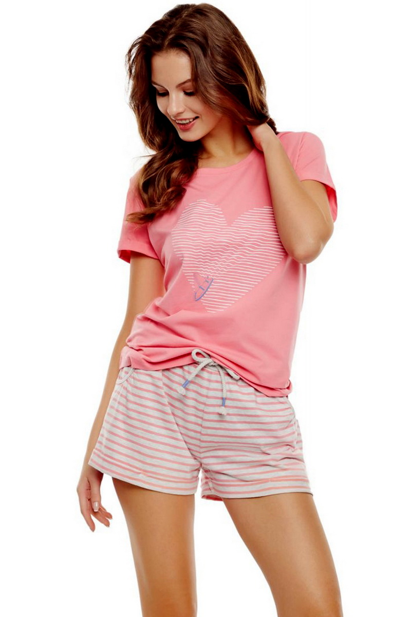Dámské pyžamo Esotiq 35911 růžové (velikost M)