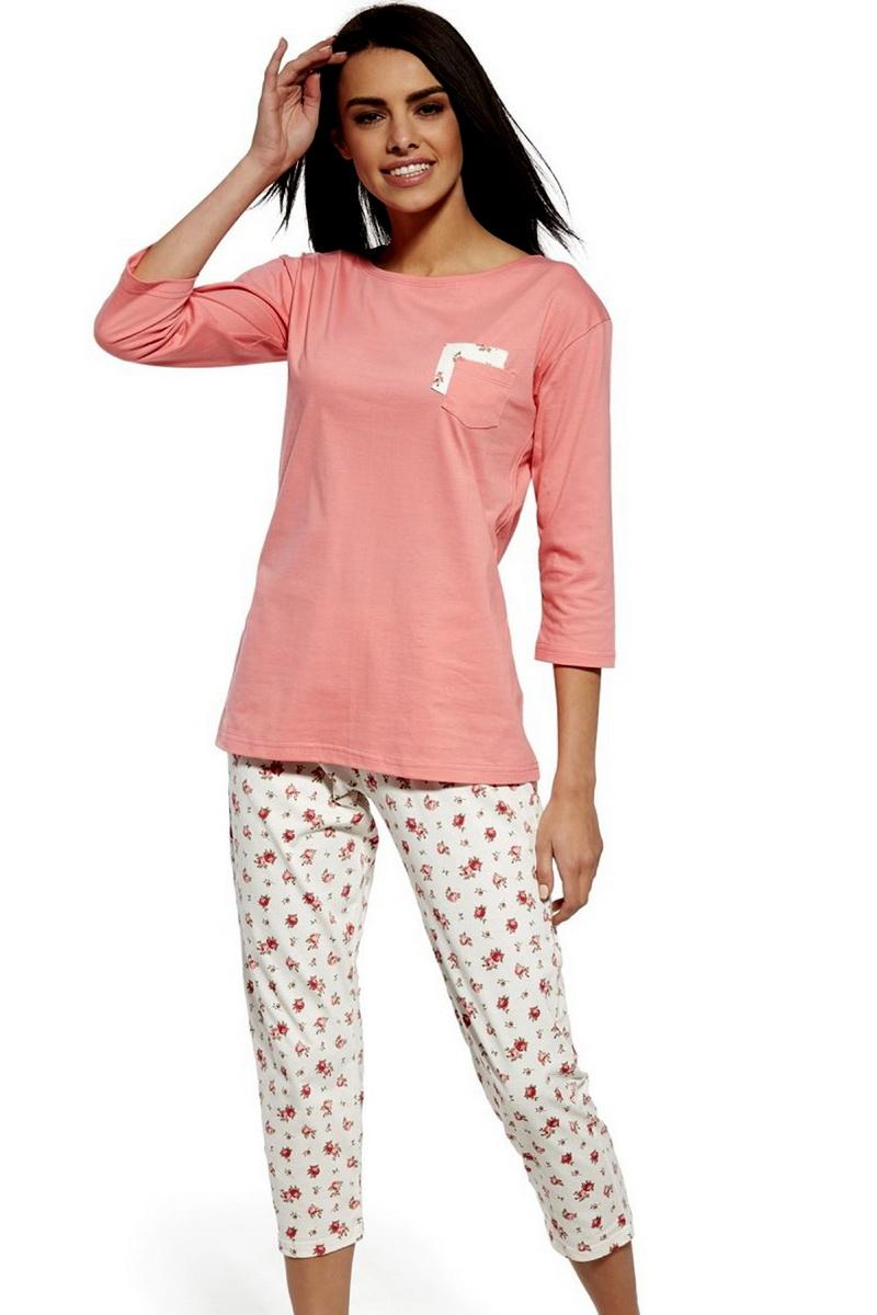 Dámské pyžamo Cornette 602132 Betty růžové (velikost L)