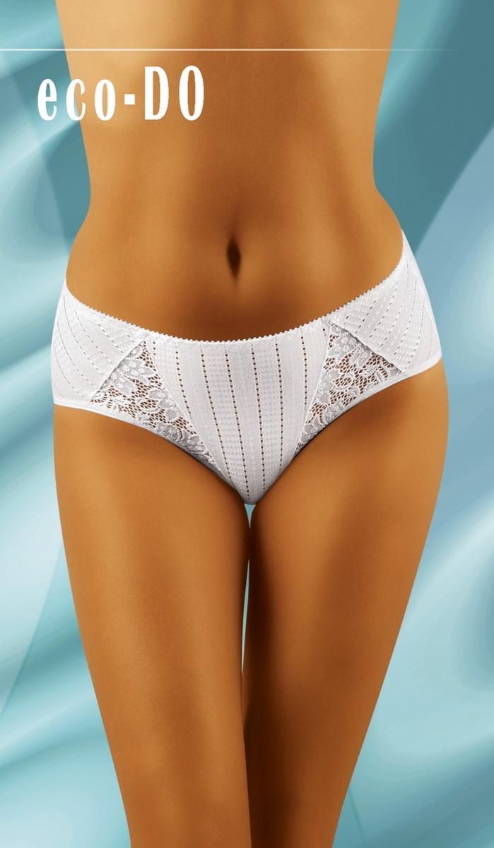 Dámské kalhotky Wolbar eco-DO bílé (velikost XXL)