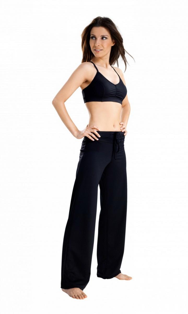 Fitness kalhoty gWinner Tosca černé (velikost M)