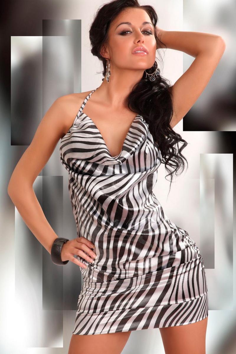 Šaty LivCo Corsetti Eliora (velikost M)