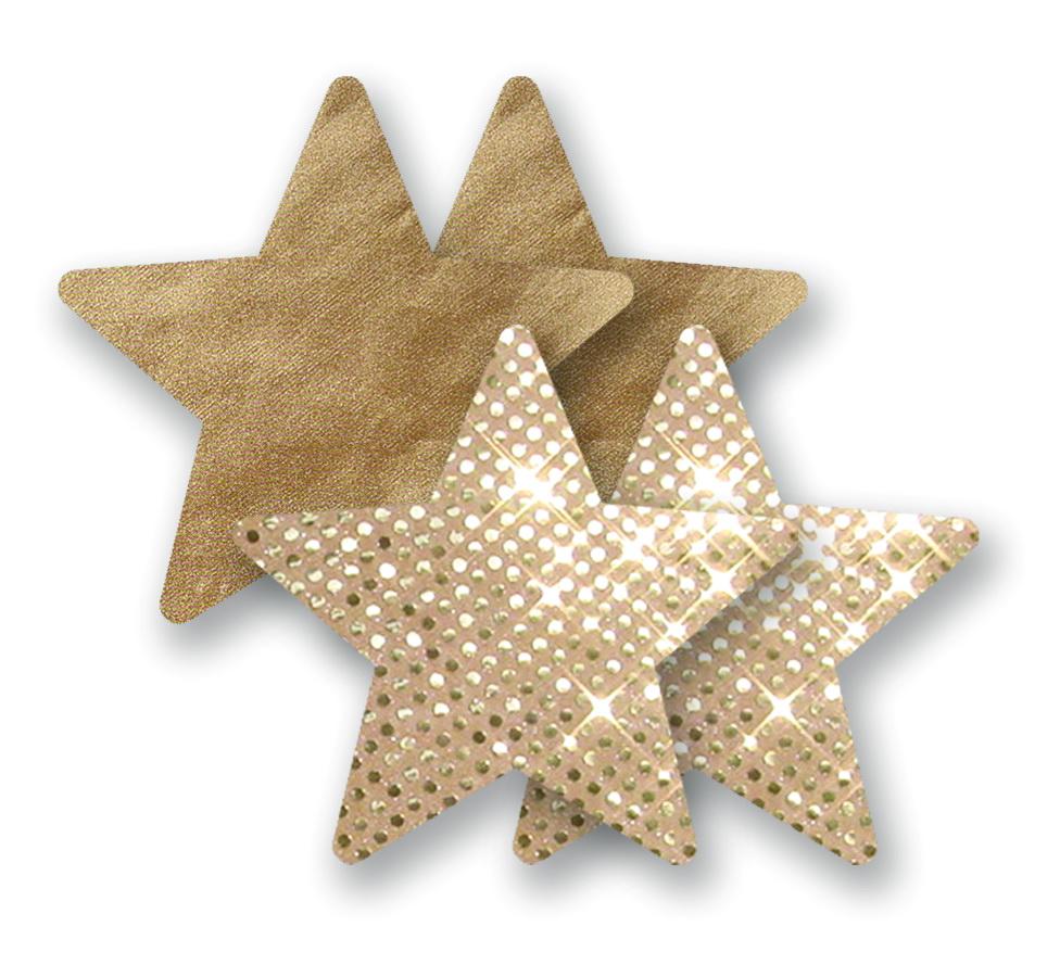 Ozdoby na bradavky - tělové hvězdičky