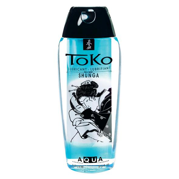 Lubrikační gel na vodní bázi Toko Shunga (165 ml)