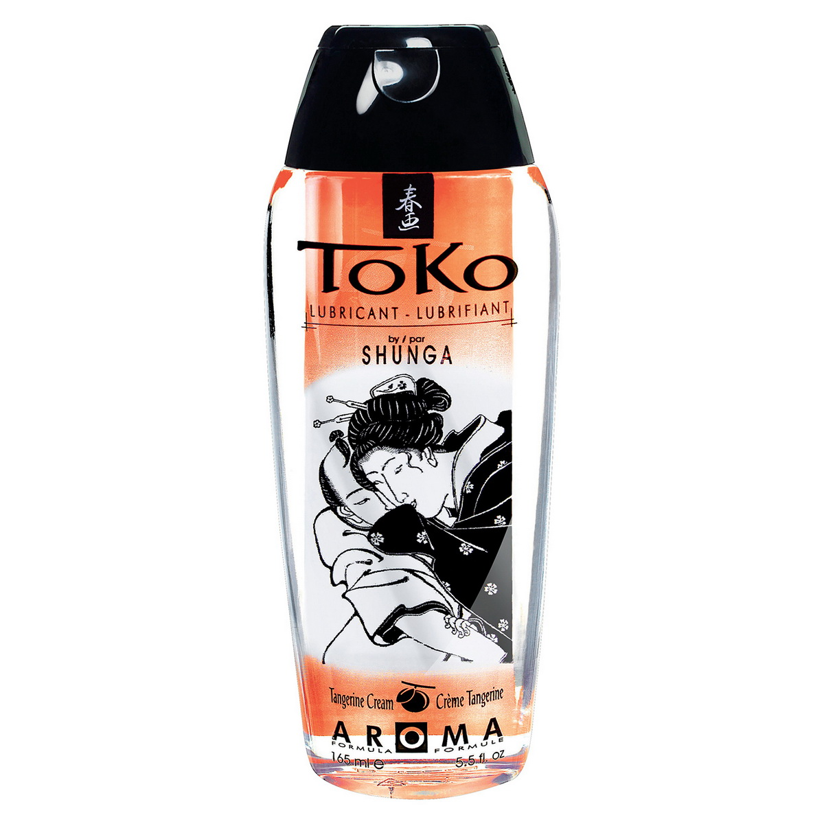 Aromatický lubrikační gel Tangerine Cream Toko Shunga (165 ml)