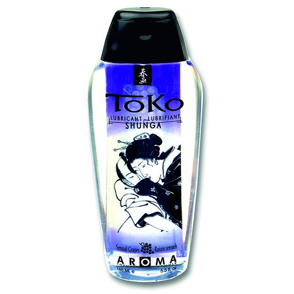 Aromatický lubrikační gel Sensual Grapes Toko Shunga (165 ml)