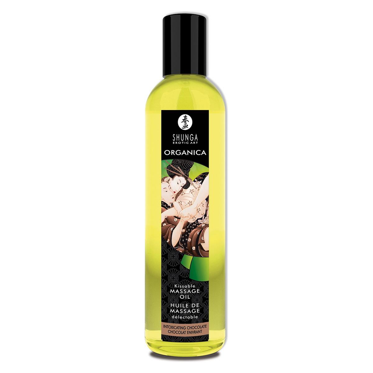 Organický masážní olej Intoxicating Chocolate Shunga (250 ml)