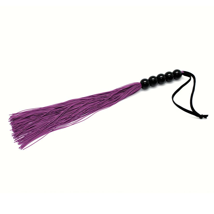 Silikonový bič fialový