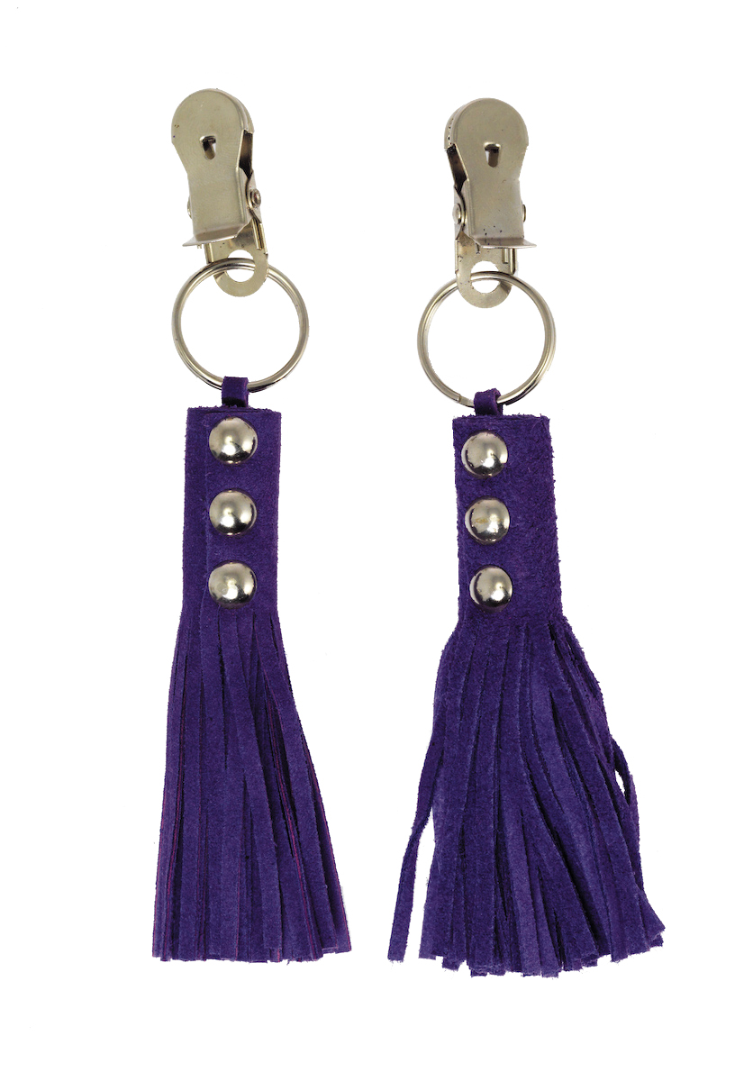 Kolíčky na bradavky - fialové