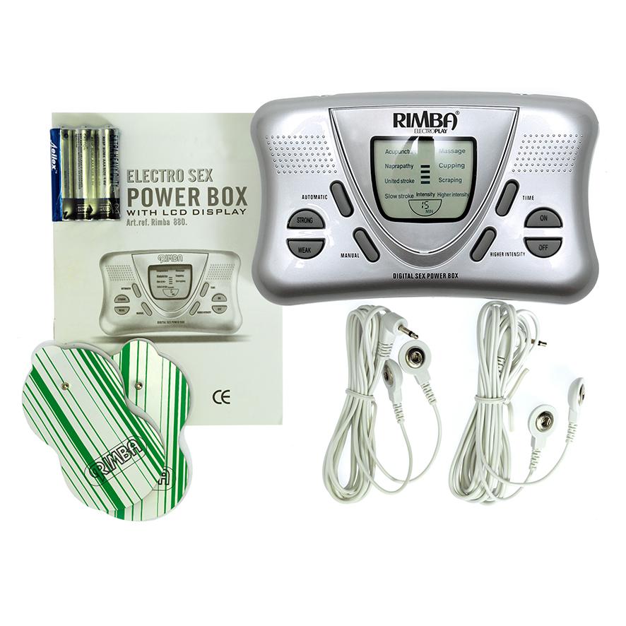 Elektrosex powerbox s LCD displejem