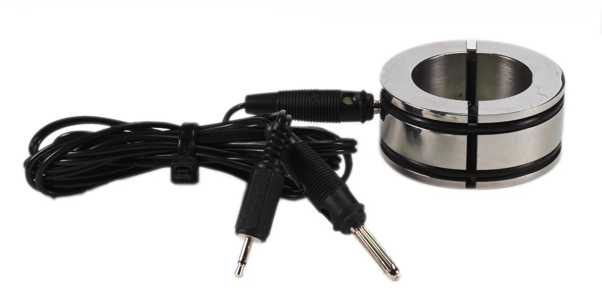 Elektrosex kovový kroužek bipolární